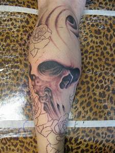 Russell Fortier / Prison Skull with Wave - Yelp