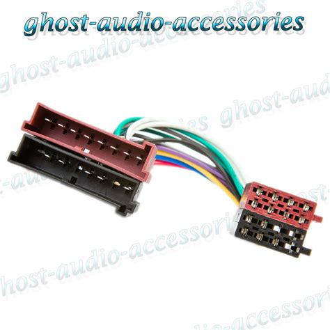 Ford Explorer Iso Car Radio Stereo Harness Adapter Wiring