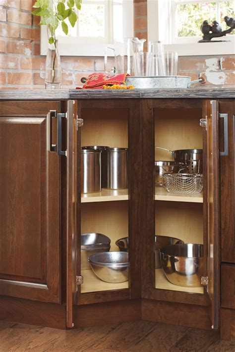Schrock Kitchen Cabinets Dealers by 135 Degree Base Cabinet Schrock Cabinetry