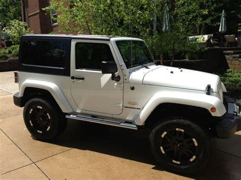 Sell Used 2011 Jeep Wrangler Sahara Sport Utility 2-door 3