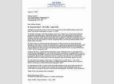 Condo board letter summarizing the findings of building