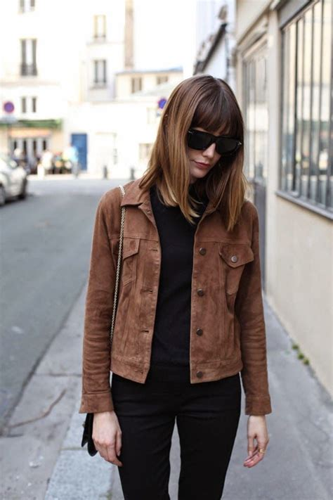 Best 25+ Brown jacket outfit ideas on Pinterest | Womens brown leather jacket Brown leather ...
