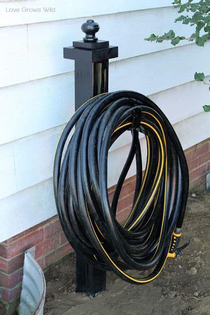 17 best ideas about garden hose holder on hose