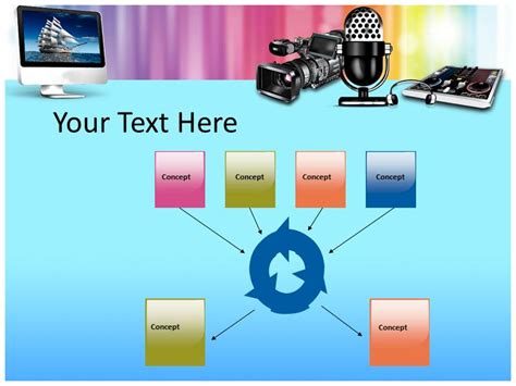 multimedia powerpoint templates multimedia technology powerpoint templates and backgrounds