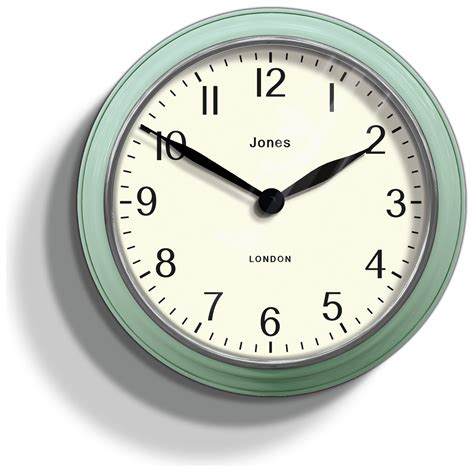 jones kettle clock duck egg
