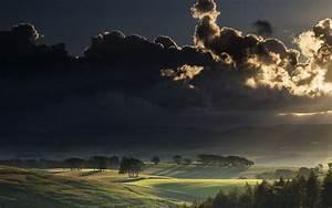 Nature, Landscape, Plains, Sun, Rays, Wallpapers, Hd, Desktop, And, Mobile, Backgrounds
