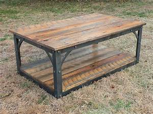 best 25 barn wood tables ideas on pinterest reclaimed With barn wood top coffee table