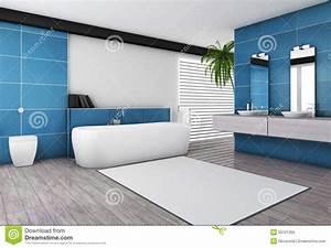 Salle De Bain En Bois : stunning salle de bain bleu et bois ideas awesome ~ Premium-room.com Idées de Décoration