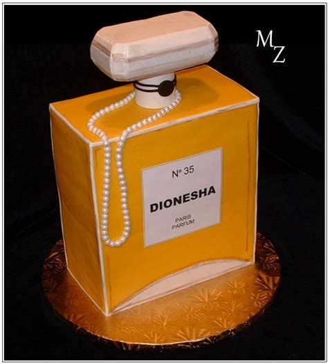 perfume bottle cake cakes novelty pinterest