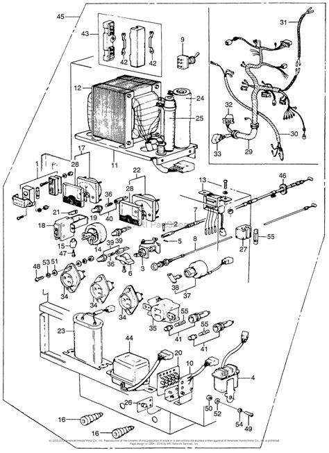 honda em5000 a generator jpn vin em5000 1000016 parts diagram for box throttle cable