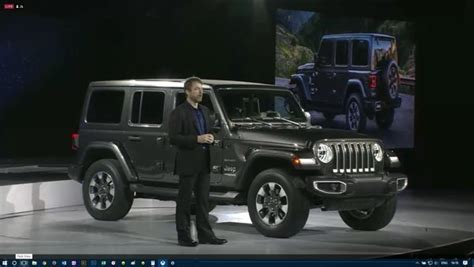 The New Jeep Wrangler Jl Has Made Its L.a. Debut!!!! News
