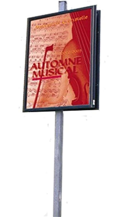 panneau d affichage ext 233 rieur arve007