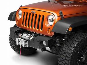 Rough Country Jeep Wrangler Modular Front Winch Plate