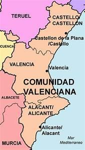 Datos B U00e1sicos De La Comunidad Valenciana