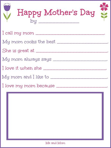 mothers day crafts cards activities and worksheets html