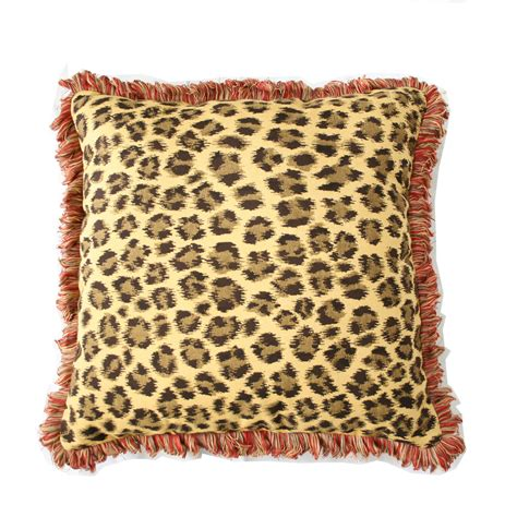 pillows with fringe throw pillow indoor outdoor 22 quot square sunbrella deluxe with fringe