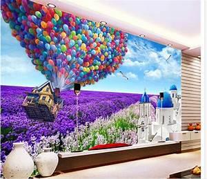 Custom photo wallpaper Large 3D sofa TV background ...
