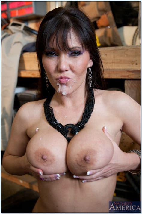 Slutty Porn Star Claire Dames In The Garage Milf Fox