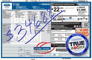 True invoice and review for 2016 ford f150 for F150 invoice price