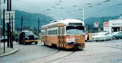 Learning L Valley Pike Johnstown Pa by Vintage Johnstown Trolley Time