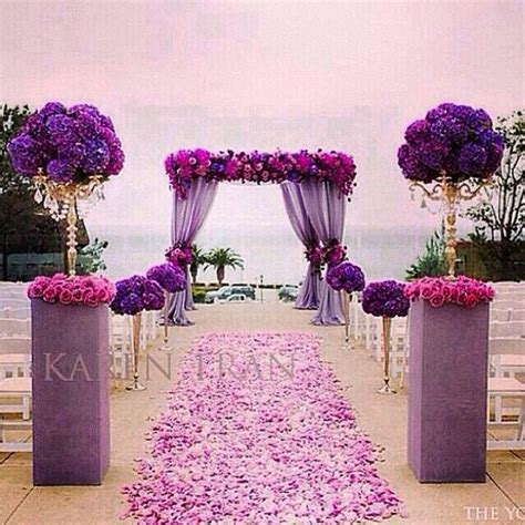 purple wedding receptions ideas  pinterest