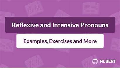 Intensive Pronouns Reflexive Examples Definition Albert Exercises
