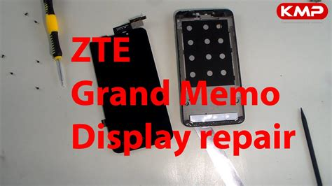 lcd display reparieren zte grand memo lcd display reparieren wechseln tauschen repair