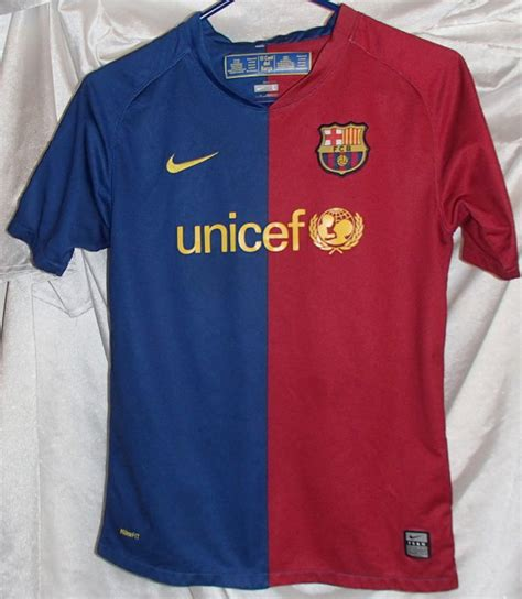 Lionel Messi Nike Barcelona Soccer Jersey Youth Size