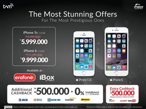 Harga Iphone 6 Di Ibox harga iphone akhir tahun erafone dan ibox turun harga