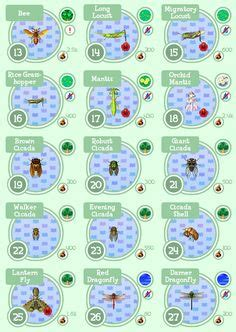 massive acnl fish guide detailed animal crossing