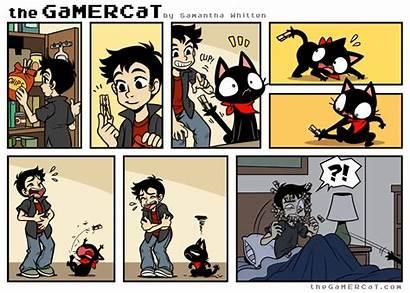 Gamer Cat Gamercat Comic Comics Thegamercat Own