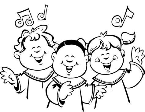 children singing clipart black and white 1 186 primaria ceip josep tarradellas p 225 2
