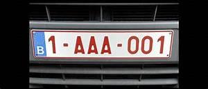 Immatriculation Voiture Belge : la belgique s 39 offre des plaques d 39 immatriculation personnalis es automobile ~ Gottalentnigeria.com Avis de Voitures