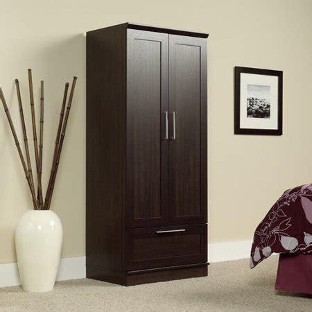 Sauder Wardrobe Storage Cabinet by Sauder Homeplus Wardrobe Storage Cabinet Walmart