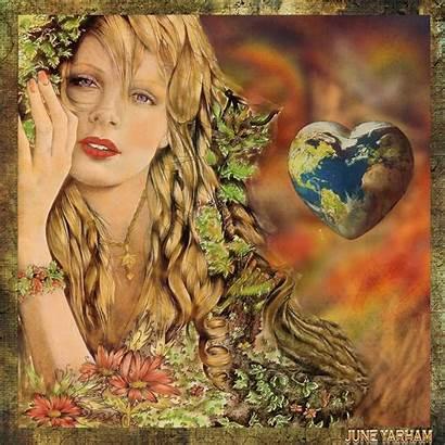 Mother Nature Earth Divine Feminine Gaia Beauty