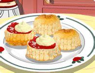 girlsgogames cuisine 39 s scones