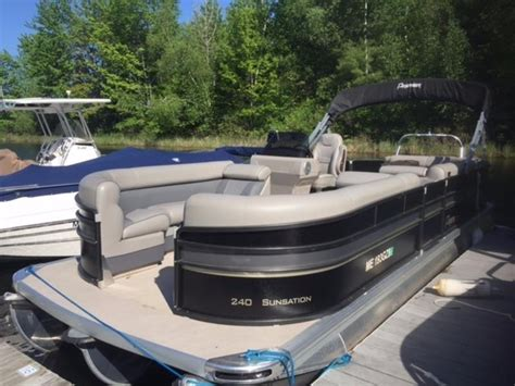 Used Pontoon Boats Premier by 2014 Used Premier 240 Sunsation Pontoon Boat For Sale