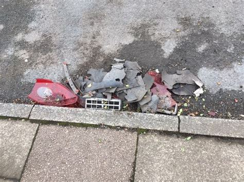 explosion  salford  caused  device packed