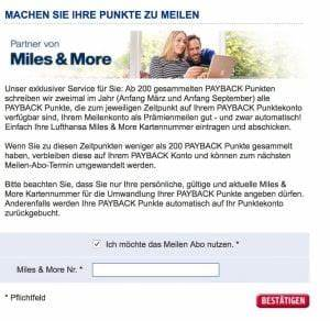 Payback Punkte Aufs Konto : payback punkte zu miles and more transferieren ~ Eleganceandgraceweddings.com Haus und Dekorationen
