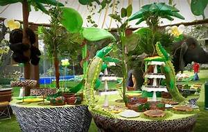 Jungle Party Decorations Omg Jungle Party Ideas