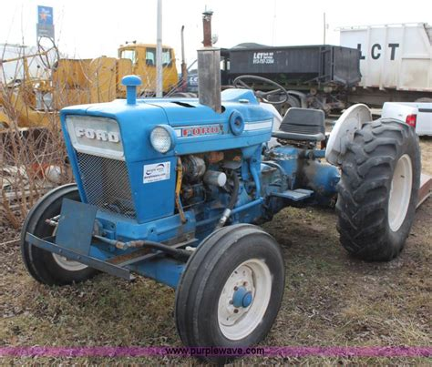 1970 ford 4000 tractor
