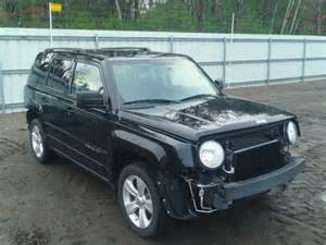 wrecked jeep wrecked 2012 jeep patriot la for sale in me lyman lot