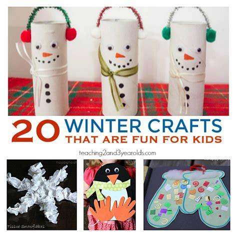 20 preschool winter crafts 871 | 20 winter crafts for kids