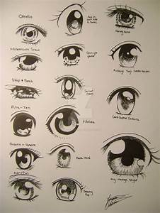 Random anime eyes by 33starrynight33 on DeviantArt