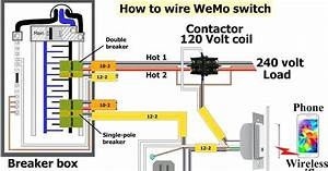 240 Volt Heater And Thermostat Wiring