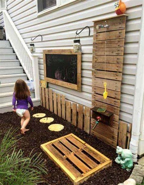 Building An Outdoor Bathroom 27 Beautiful Diy Bathroom Pallet Projects For A Rustic