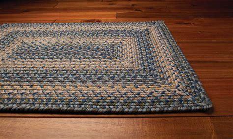 Home Decor Rugs : Homespice Decor Ultra Durable Braided Rectangular Blue