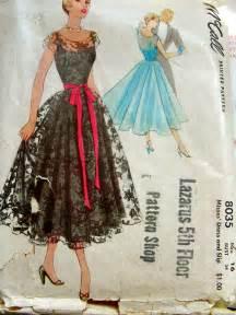Vintage McCalls Dress Patterns