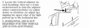 Service Manual  How To Adjust Headlights 2007 Ford F150