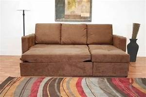 tan brown microfiber sectional sofa bed with right facing With microfiber sectional sofa with storage chaise